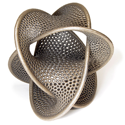Borromean Rings by Bathsheba Grossman